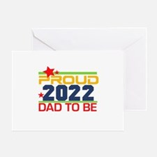 2017 Proud Dad to Be Greeting Card