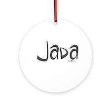 Jada Ornament (Round)