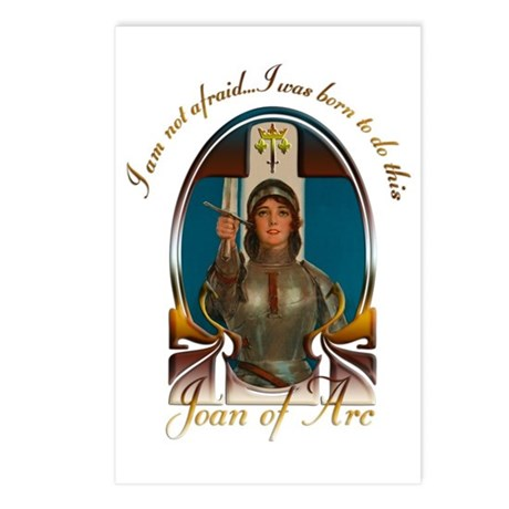 Joan of Arc Nouveau Postcards (Package of 8)