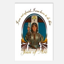 Joan of Arc Nouveau Postcards (Package of 8)