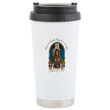 Joan of Arc Nouveau Travel Mug
