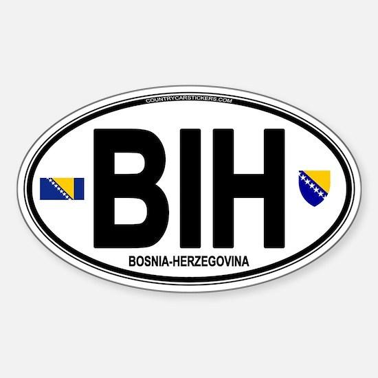Bosnia-Herzegovina Sticker (Oval)
