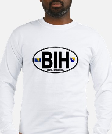 Bosnia-Herzegovina Long Sleeve T-Shirt