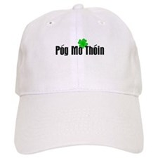 Pog Mo Thoin Text Baseball Baseball Cap