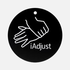iAdjust - Chiro Hands Ornament (Round)