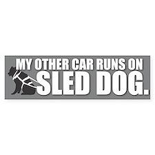 Sled Dog Bumper Bumper Sticker