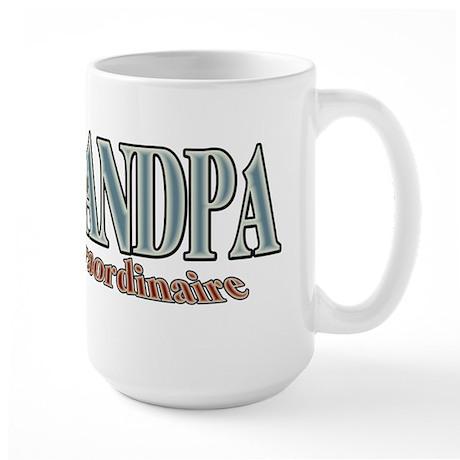 GRANDPA extraordinaire Large Mug