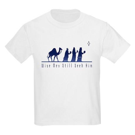 Wise Men Still Seek Him Kids Light T-Shirt