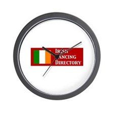 Irish Dancing Directory Wall Clock