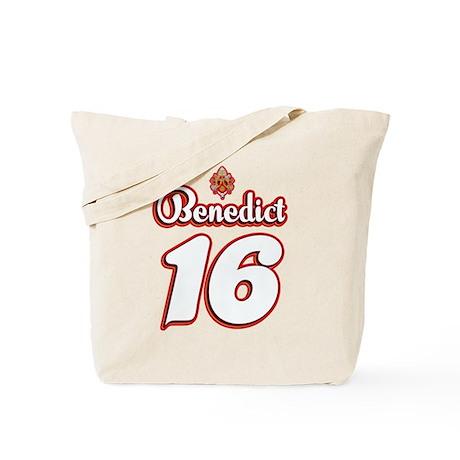 Benedict 16 Jersey Tote Bag