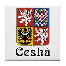 Czech Tile Coaster