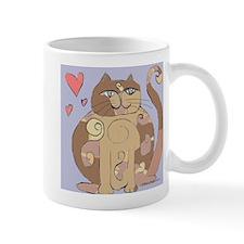Spiral Cat Mug