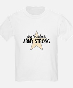 My Grandpa is Army Strong T-Shirt