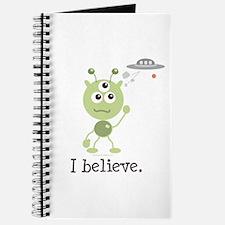 I Believe Alien UFO Journal