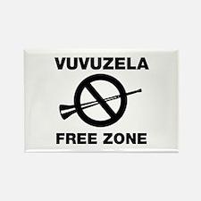 Vuvuzela Free Zone Rectangle Magnet
