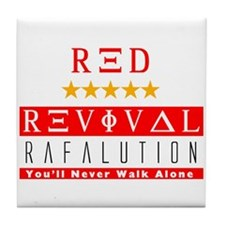 Rafalution Red Revival Tile Coaster