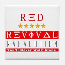 Rafalution Red Revival Tile Coaster