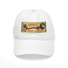 America Held Baseball Captive Baseball Cap