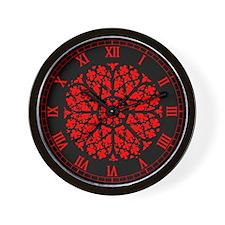 Rose Window v2 Wall Clock