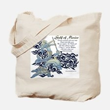 The Turtle and The Dolphin Tote Bag