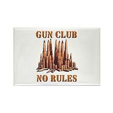 Gun Club Rectangle Magnet