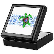 ILY Hawaii Turtle Keepsake Box