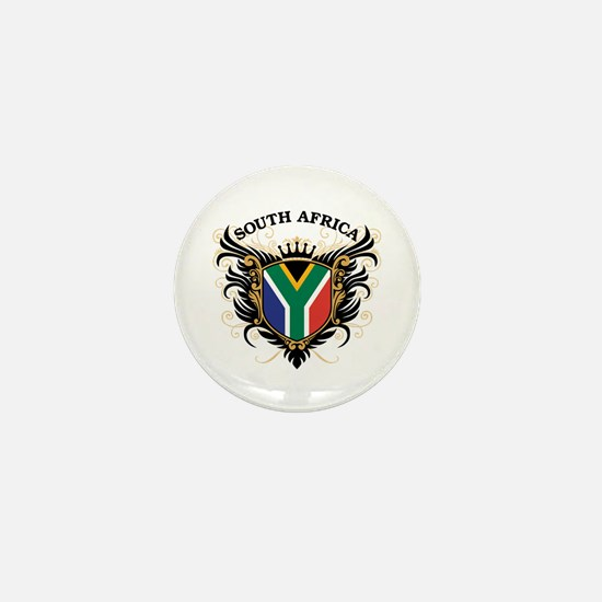 South Africa Mini Button