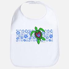 ILY Hawaii Turtle Bib