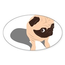 Guilty Pug Decal