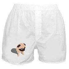 Guilty Pug Boxer Shorts