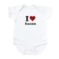 I heart bacon Infant Bodysuit