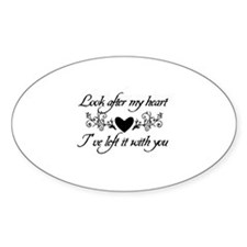 Look After My Heart Tribal He Decal