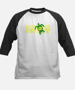 Hawaii Turtle Kids Baseball Jersey