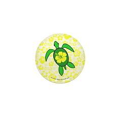 Hawaii Turtle Mini Button (10 pack)
