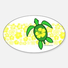 Hawaii Turtle Decal