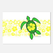 Hawaii Turtle Postcards (Package of 8)