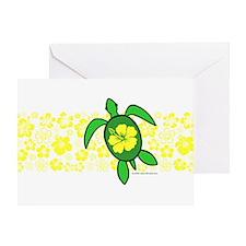 Hawaii Turtle Greeting Card
