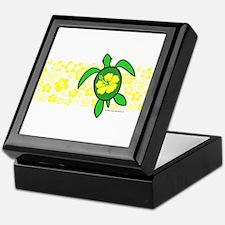 Hawaii Turtle Keepsake Box