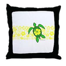 Hawaii Turtle Throw Pillow