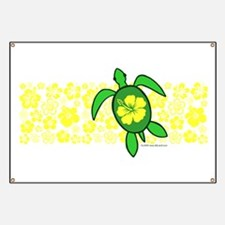 Hawaii Turtle Banner