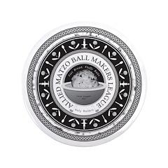 "Allied Matzo Ball Makers League 3.5"" Button"