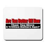 Are You Better Off Now Mousepad