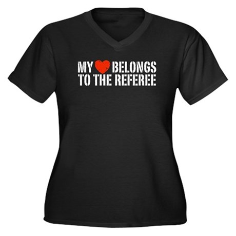 My Heart Belongs To The Referee Women's Plus Size