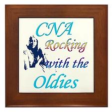 Cna nursing Framed Tile