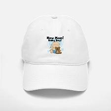 New Mom Baby Boy Baseball Baseball Cap