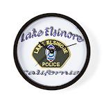 Lake Elsinore Police Wall Clock