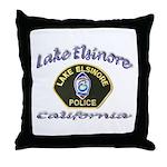 Lake Elsinore Police Throw Pillow