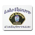 Lake Elsinore Police Mousepad
