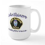 Lake Elsinore Police Large Mug