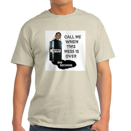 SLICK AND OILY BARACK Light T-Shirt